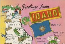Idaho Love! / Ahhh, Idaho – The birthplace of Idaho Spuds! Feel the Idaho love with these recipes, facts, travel guides and Idaho nature eye-candy