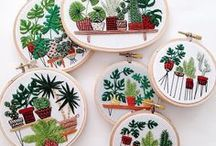 Creative Stitching / Get crafty with these super fun, creative stitching ideas. Great craft projects for all ages and abilities.