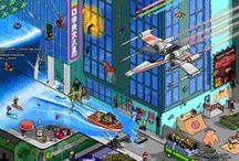 Pixel Art / The nostalgic part of my illustration work. / by Matej Jan