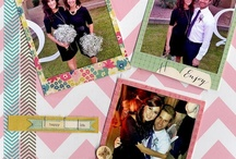 Scrapbook Page Ideas / Layouts for scrapbook pages.