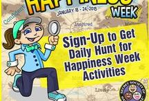Hunt for Happiness Week / by Pamela Gail Johnson