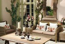Happy Place: Sunroom and Outside spaces