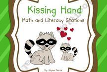 Kindergarten - The Kissing Hand  / Kissing hand activities