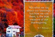Thankful Project 2013 / by Pamela Gail Johnson