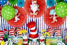 Birthday : Dr Seuss Party / Dr Seuss birthday party ideas