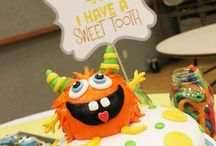 Birthday: Little Monster / Monster themed birthday ideas for party
