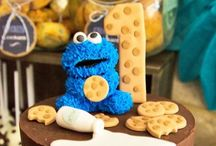 Birthday: Milk and Cookie Monster / Milk and Cookie Monster birthday themes ideas for party