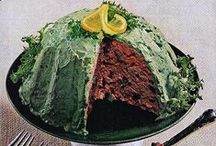 z_Big Kitschy Betty Crocker Bash / Inspiration for a tacky mid-century potluck party