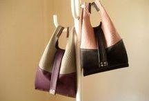 """紙袋やレジ袋のような革袋 / 紙袋のような革袋 """"Sack"""" レジ袋のような革袋""""Pendulum"""" Leather bags , such as paper bags and plastic bags"""