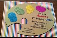 Creative Party Invitations / #Unique and unusual party invitations