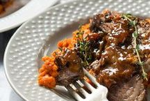 Braised and Broiled / Tasty recipes where beef gets braised and broiled