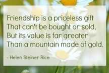 Friendship Quotes for Girlfriends! / Aren't you glad you have Girlfriends?! That's what we celebrate & inspire on Girlfriendology.com & Facebook.com/Girlfriendology. Join us - join your girlfriends!