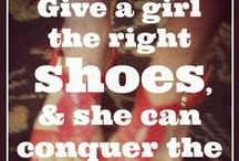 Girls gotta have SHOES / It's just a fact. We love em. Gotta have em. Want them all! (Stuff we share on Girlfriendology.com)
