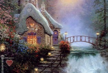 I Want to Live In a Thomas Kinkade Painting
