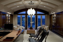 DC Spaces | Home Offices / Nothing speaks DC homes like home offices. Here are a couple diverse versions we like.