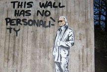 Graffiti | Urban Art | Guerilla Marketing | etc / by Kelvin Hanratty