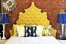 Heavenly Headboards / At Tassels Interiors, we can create your dream headboard.