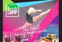Dance Camp.  #jfkdancecamp / The total camp experience. Every year, teams leave Just For Kix camp inspired to dance their best dance. A camp experience unlike any other.