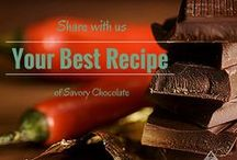 Rethinking Chocolate / With Valentine's Day right around the corner, there will be chocolates galore! Here are a few ways to incorporate chocolate in savory dishes. Chocolate is so much more than a dessert. Who knew?