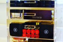 Luxury Beauty Cases & Organizers / Luxurious Crystal Clear Organizers for all your Makeup, Perfume & Accessories!