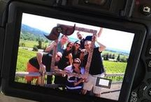 Selfies Along the Wine Road