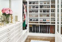 Makeup & Closet Organization Hacks / Tips and tricks to keep the your closet and vanity table organized and beautiful.