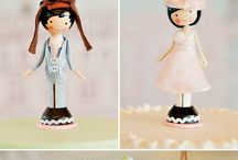 Wedding and birthday Cake Toppers / by Zoe Smith