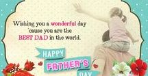 Father's Day Ecards & Ideas / Celebrate Father's Day  by showing gratitude and love for your Dad who is also a hero, guide and friend with our free ecards ~ bit.ly/zh3EZ