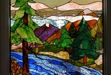 I Love Stained glass, actually all glass! / by Elaine Mackay
