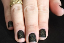 """Create YOUR Julep Color / I would love a color with a cream black base, with gold flecks. Something perfect for fall and new years! Gone are the day's of black manis being reserved for the """"goth"""" crowd. Dark manicures are very edgy and fashion forward, I think the gold will give the basic black manicure a more girly twist. / by Shelby Jackson"""