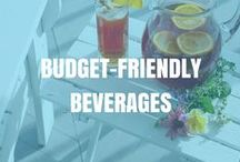 Budget-friendly Beverages | Lose It! / Calories from beverages can really add up! This board contains a variety of no-cal and low-cal drink ideas.
