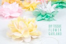 Garlands and backdrops / by Zoe Smith
