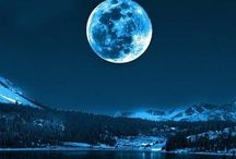 Chase's Moon / My son claimed the moon years ago. Moon beams also remind me of my sweet childhood / by Kay Hires Bronson