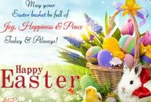 Easter / It's Easter! A time for hope, renewal of spirit, rekindling of faith and rejoicing in the triumph of the Lord.  http://www.123greetings.com/events/easter/