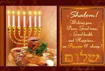 Passover / It's Passover! Time to read haggadah, enjoy a warm seder and have a joyous time with your loved ones. http://www.123greetings.com/events/passover/
