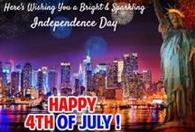 4th of July Ecards & Ideas / Fourth of July brings on the cheerful times of red, white and blue. http://www.123greetings.com/events/fourth_of_july/