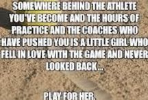Softball / Anything that has to do with softball / by Deb Maue