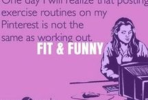 Fit and Funny / Memes, jokes, and more! / by Health & Weight Loss w/ Lose It!