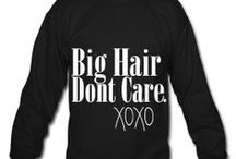Hair Care at DolledUp! / Big Hair Don't Care! Check out some of the hair care ranges we stock www.dolledup.ie
