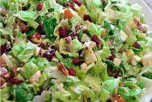 Spectacular Salads / Salads - starters, dressings, main dish...