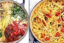 Pasta-bilities / Pasta recipes...all kinds.