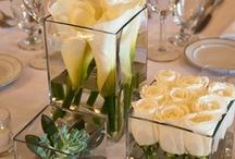 Table Centre Pieces / Our bubble and cube vases are perfect
