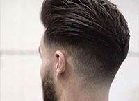 Hair man & style