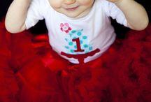 birthday: aqua & red ...