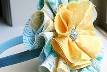 Cloth Flowers / by mabl77