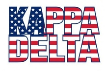 KAPPA DELTA / AOT to any and all of the beautiful Kaydee Ladies that come across this board / by Shelby