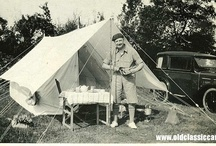 Vintage camping images