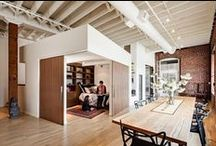 small space living NYC / by Cristen Burdell