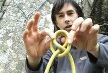 Knots,  lashings and cordage /