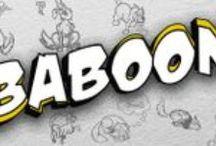 BABOOM / Comics I developed (writing and art).